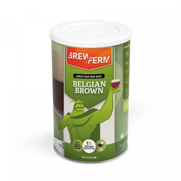Mladinový koncentrát Belgian Brown