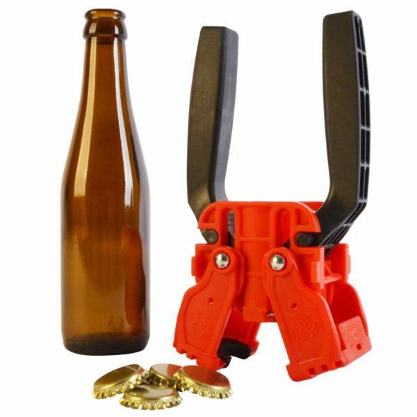 narážač pivných koruniek